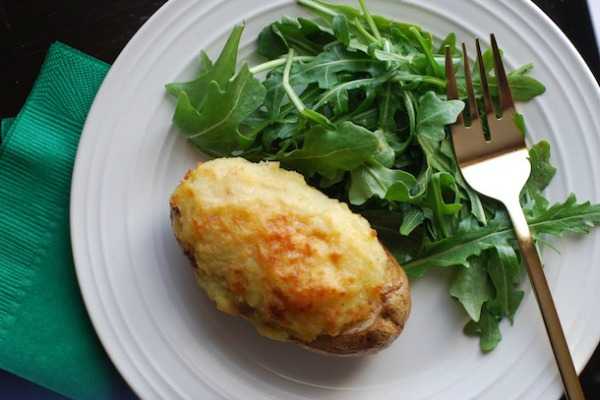 Stuffed Irish Shepherd's Pie Potatoes
