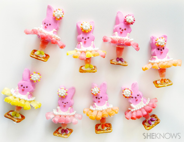 Ballerina Peeps treats