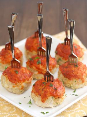 Chicken Parmesan Meatballs   Sheknows.com