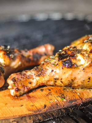 Planked Chicken with Lemon and Herbs | Sheknows.com