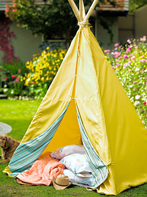 Backyard TeePee | Sheknows.com