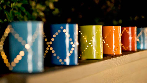 Paint can DIY lights | Sheknows.com