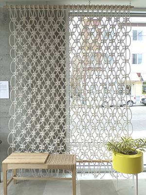 Beachy room divider | Sheknows.com