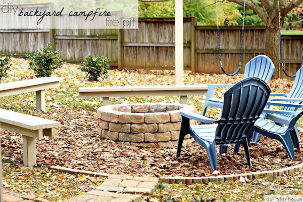 Brick fire pit | Sheknows.com