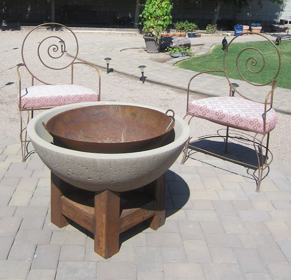 Wok fire pit | Sheknows.com