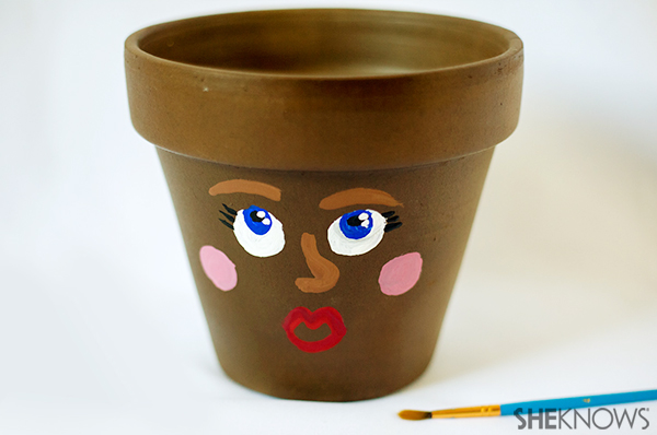Earth day plant crat | Sheknows.com - paint a silly face