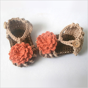 Stiches by Steph Ann infant sandals | Sheknows.com