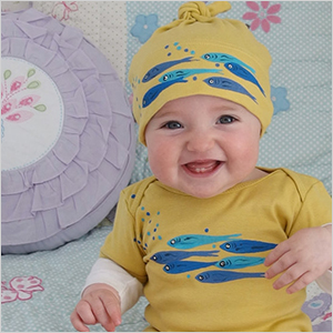 Sweetest Hue fish bodysuit and hat | Sheknows.com