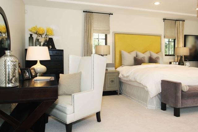 Brighten and lighten your bedroom