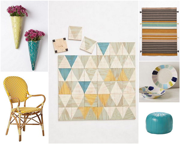 Turquoise & yellow color scheme | Sheknows.com
