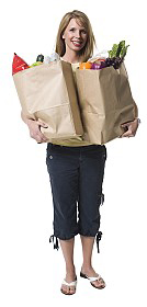 Woman with grocery bags | Sheknows.com