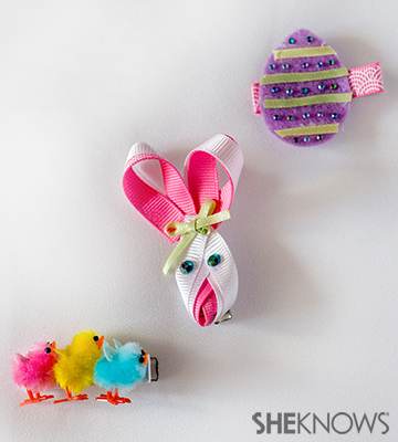 Easter hair clips | Sheknows.com