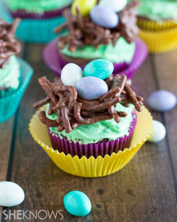 Bird's nest cupcakes | Sheknows.com