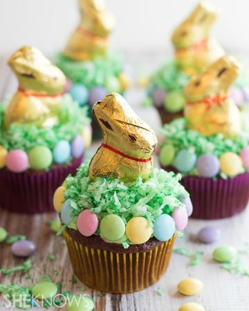 Lindt chocolate bunny cupcakes | Sheknows.com