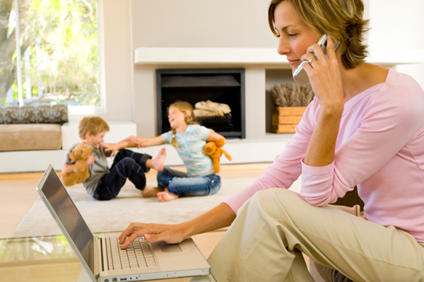 Balance your family's finances with work