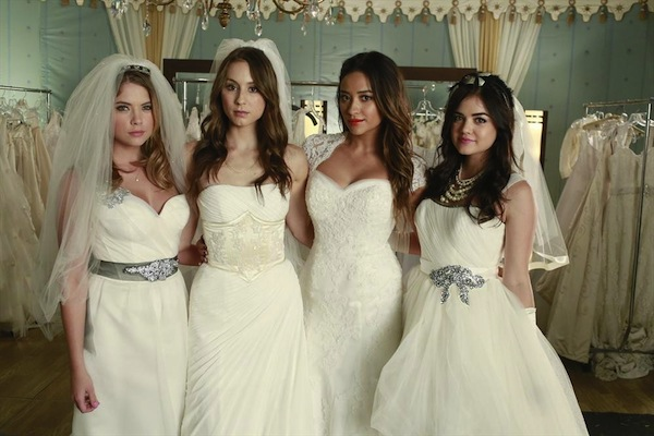 Pretty Little Liars is going bridal in Season 4 Episode 23