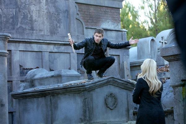 Klaus taunts Rebekah in The Originals