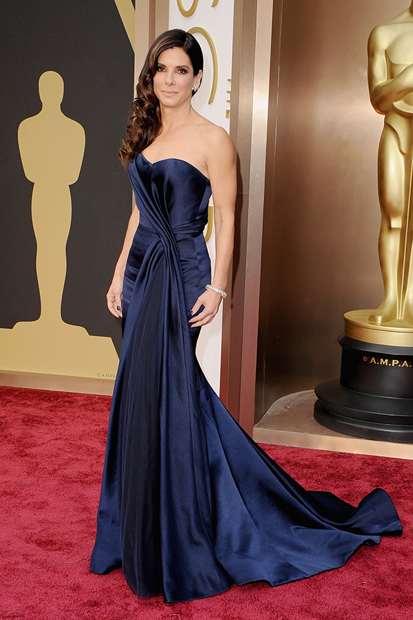 Sandra Bullock's 2014 Oscars dress