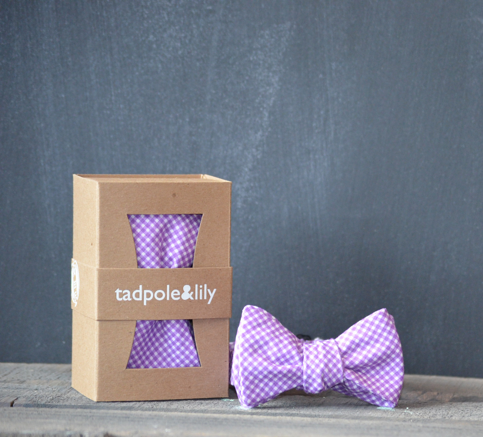 Radiant Orchid baby clothes:bow tie