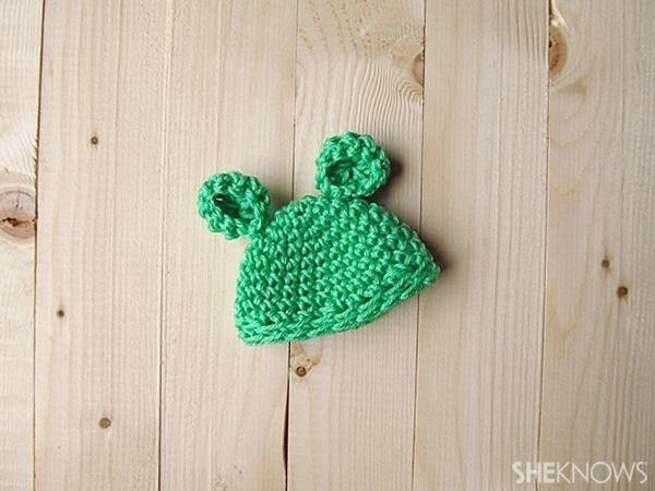 Crochet Easter egg hats: Bear Ears