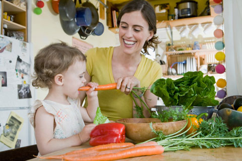 Modern Mom: How many fruits and veggies should my kid be ...
