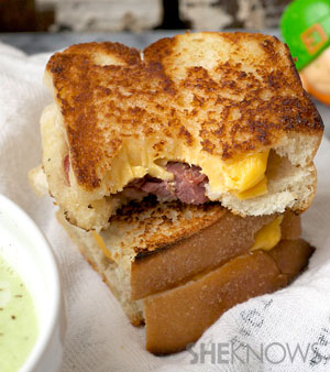 Irish grilled cheese