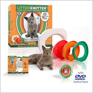 Litter Kwitter toilet training kit