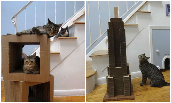 Tamar Arslanian I Have a Cat: Empire state building scratcher