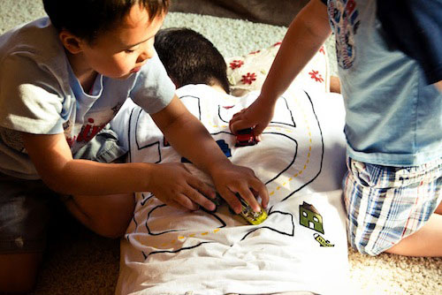 Fun, messy crafts for active children