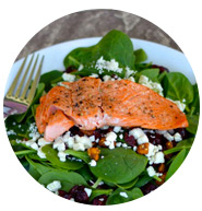 Spinach and salmon salad | Sheknows.com