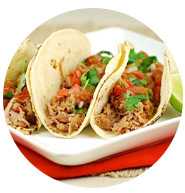 Easy slow cooker pork tacos | Sheknows.com