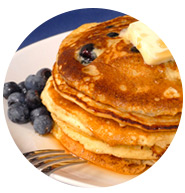 Blueberry pancakes | Sheknows.com