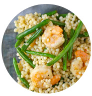 Shrimp, Green bean, and couscous salad | Sheknows.com