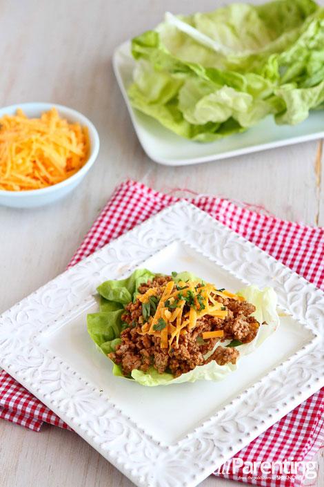 allParenting Taco lettuce wraps