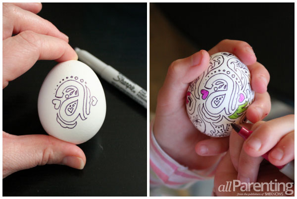 allParenting Doodle Easter eggs