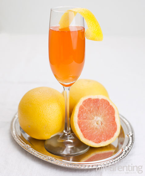 allParenting Mother's Blush- aperol grapefruit cocktail
