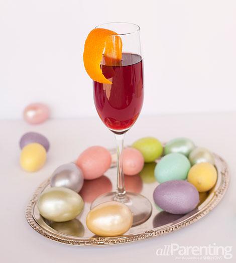allParenting Sparkling Spring Easter cocktail