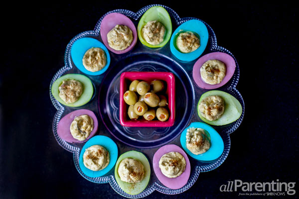 allParenting colored deviled eggs