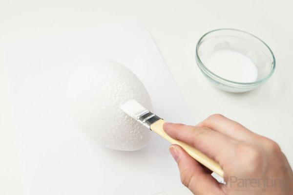 allParenting DIY Faberge Easter egg step 2