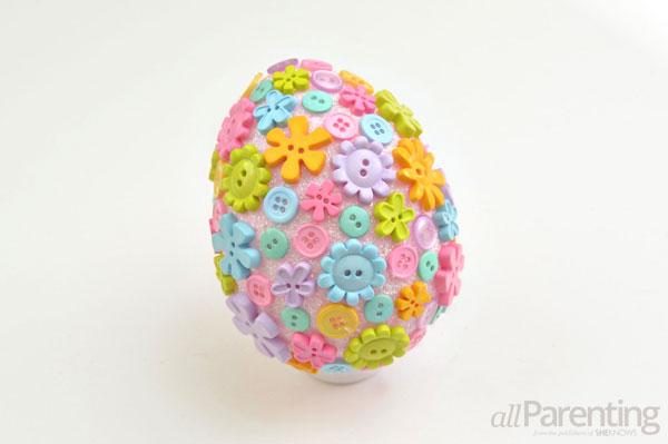 allParenting DIY Faberge Easter egg step 6