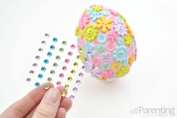 allParenting DIY Faberge Easter egg step 7