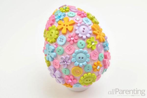 allParenting DIY Faberge Easter egg step 8