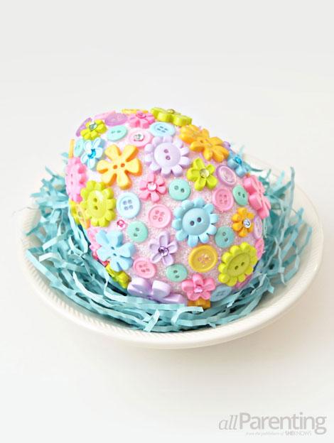 allParenting DIY Faberge Easter egg