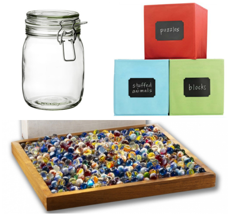 Build your own marble jar components