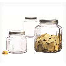 Organizing finds- 3 Piece Cracker Jar set