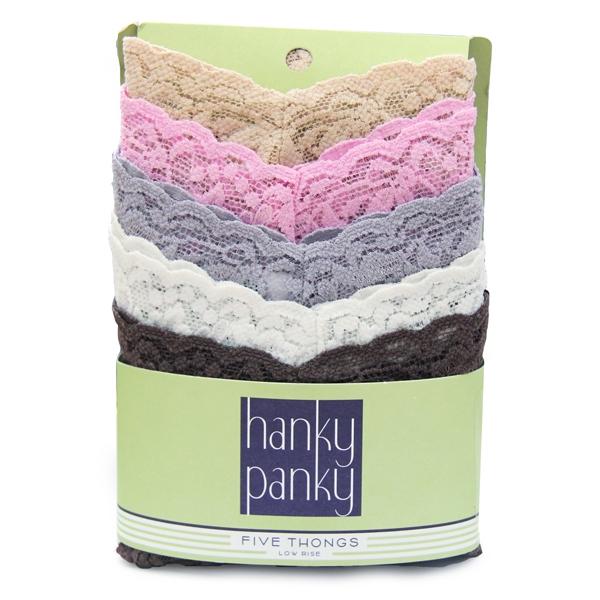 Hanky Panky thongs