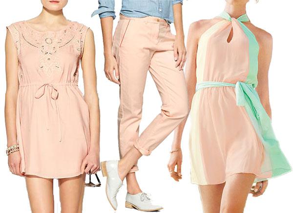 Pretty pastels- blush pink