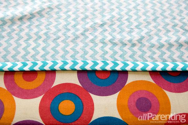 allParenting homemade pillowcase dress step 1
