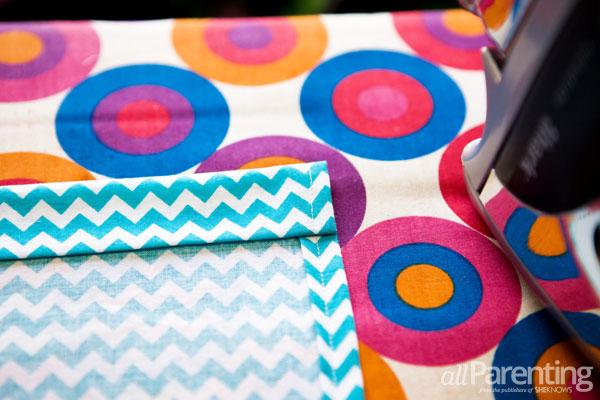 allParenting homemade pillowcase dress step 3