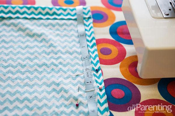 allParenting homemade pillowcase dress step 5